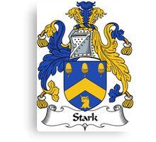 Stark Coat of Arms / Stark Family Crest Canvas Print