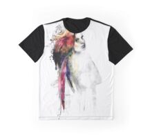 The girl and the parrott Graphic T-Shirt
