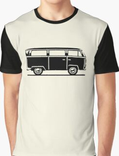 Drive by Bus 2 (black, only) Graphic T-Shirt