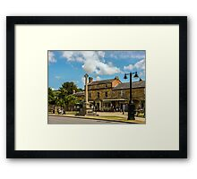 Step Back In Time. Framed Print