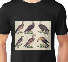 Naturgeschichte in Bildern mit erläuterndem Text E Strack 1820 Lief 2 Birds 002 Unisex T-Shirt