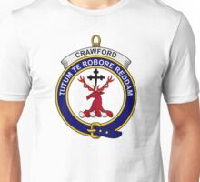 Crawford Clan Badge Unisex T-Shirt