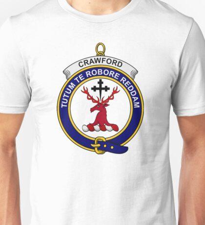 Crawford Clan Badge Unisex T-Shirt