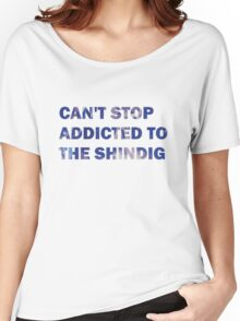 Can't Stop Addicted To The Shindig - Red Hot Chili Peppers Women's Relaxed Fit T-Shirt