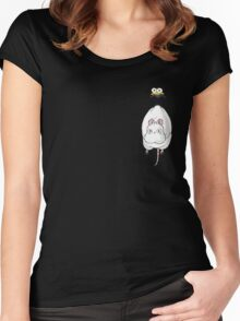 Spirited Away Mouse and Fly Women's Fitted Scoop T-Shirt