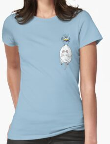 Spirited Away Mouse and Fly Womens Fitted T-Shirt