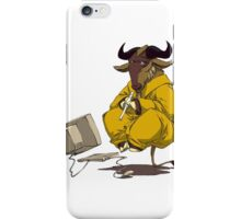 gnu iPhone Case/Skin