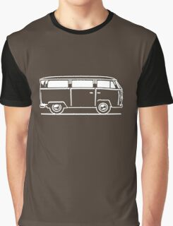 Drive by Bus 2 (white, only) Graphic T-Shirt