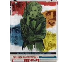 Gillian Anderson is Double-O Seven iPad Case/Skin