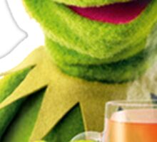 Kermit Sips Tea Sticker