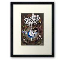 Stacey's 24 Hour Podcast Framed Print