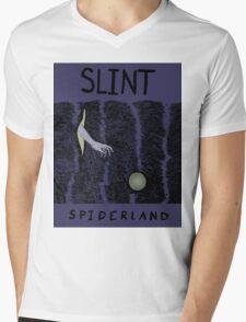Spiderland Mens V-Neck T-Shirt