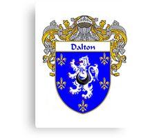Dalton Coat of Arms/Family Crest Canvas Print