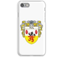 Daly Coat of Arms/Family Crest iPhone Case/Skin