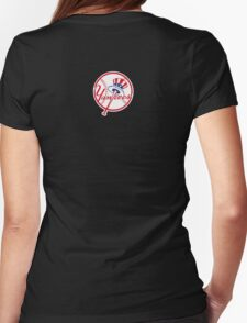 go go yankees Womens Fitted T-Shirt