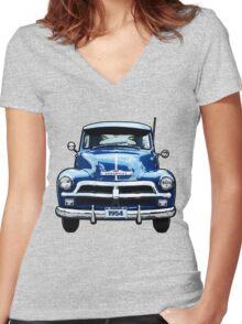 Chevrolet Truck Women's Fitted V-Neck T-Shirt