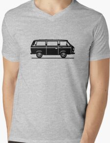 Drive by Bus 3 (black, only) Mens V-Neck T-Shirt