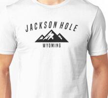 JACKSON HOLE WYOMING Mountain Skiing Ski Snowboard Snowboarding Unisex T-Shirt
