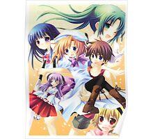 Higurashi No Naku Koro Ni Characters Poster