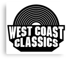 "-VIDEO GAMES- GTA ""West Coast Classic"" Canvas Print"