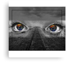 The Positive Viewpoint  Canvas Print