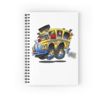 S'Cool Bus Spiral Notebook