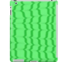 Green Ripples iPad Case/Skin