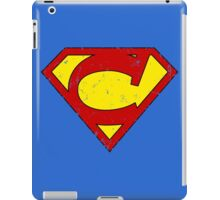 Superman C Letter iPad Case/Skin