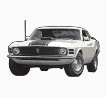 1970 Ford Mustang One Piece - Long Sleeve