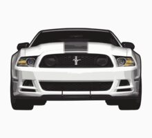 2013 Ford Mustang One Piece - Short Sleeve