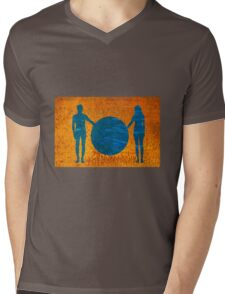 Adam & Eve Mens V-Neck T-Shirt