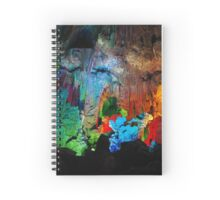 Cave is a shimmer Spiral Notebook