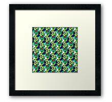 Floral pattern #8 Framed Print
