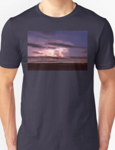 Epic Cloud To Cloud Lightning Storm Unisex T-Shirt