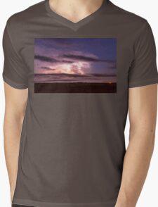 Epic Cloud To Cloud Lightning Storm Mens V-Neck T-Shirt