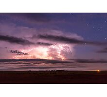 Epic Cloud To Cloud Lightning Storm Photographic Print