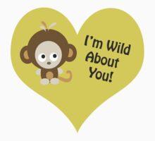 Im Wild about You Monkey One Piece - Short Sleeve