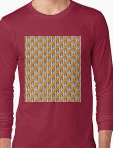 Yellow Tulips Long Sleeve T-Shirt