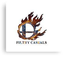 Filthy Casuals Smash Ball Canvas Print