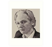 Julian Assange for Prime Minister of Australia Art Print