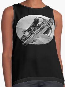 Vintage Race Bike Contrast Tank