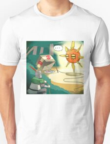 Solaire finally found his Sun T-Shirt