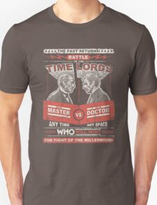 Doctor vs. Master Dr. Who Quote T-Shirt