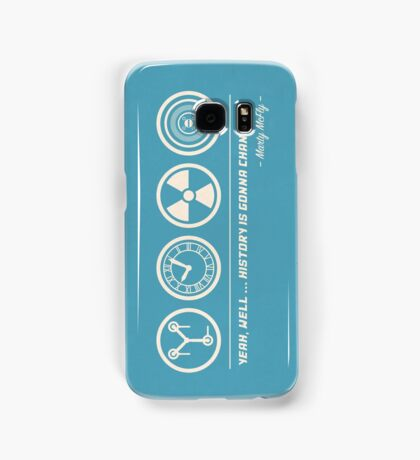 Back to the Future Symbolism Samsung Galaxy Case/Skin