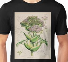 The botany of the Antarctic voyage of H M  discovery ships Erebus and Terror in the Years 1839 1843 Joseph Dalton Hooker V1 008 Unisex T-Shirt