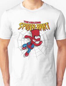 Spiderbart: Bart Simpson as Spider-man Unisex T-Shirt