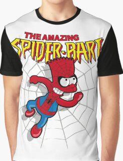 Spiderbart: Bart Simpson as Spider-man Graphic T-Shirt