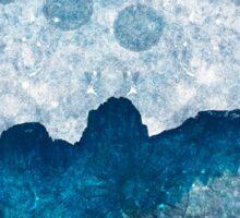 Midnight Blue Glacier Sticker