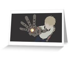 Genos Greeting Card