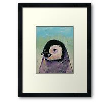Penguin Chick Framed Print